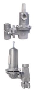 Type 1227 and Type 1230 High Flow Gas Pressure Regulators