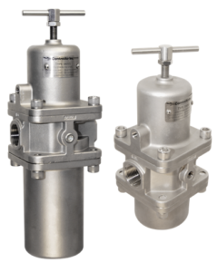 Type-380 Stainless Steel Filter Regulator and the Type-390 Stainless Steel Regulator.