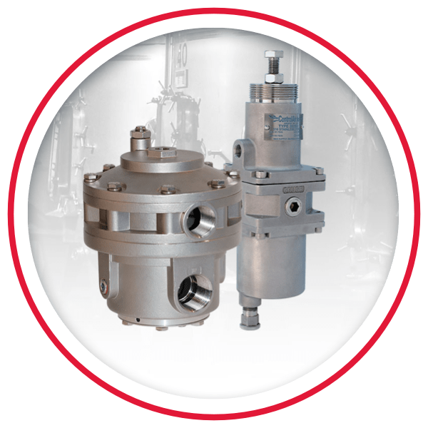 Stainless Steel Pressure Regulators & Volume Boosters