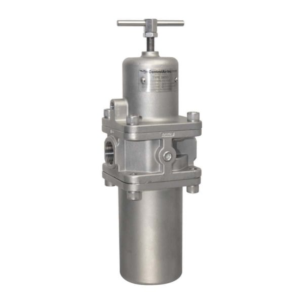 Type 380 Large Flow Capacity Stainless Steel Filter Regulator