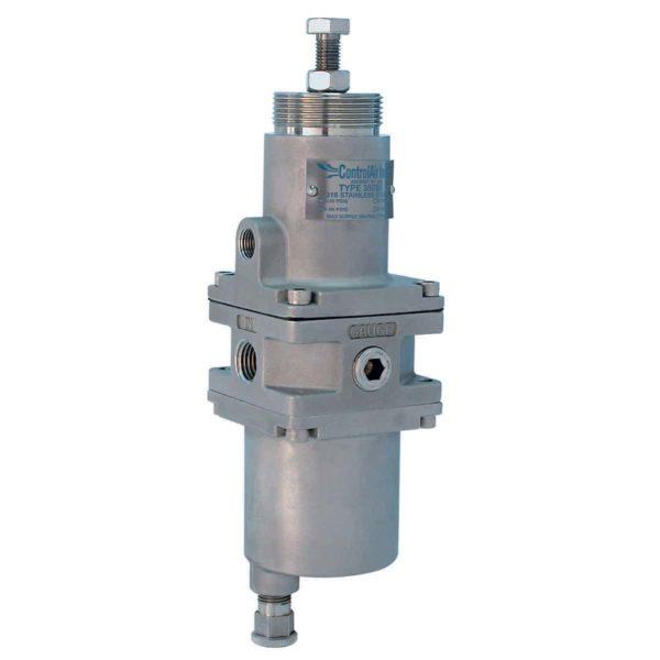 Type 350 Stainless Steel Air Filter Regulator