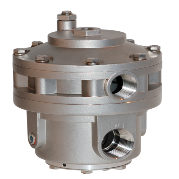 Type 6600 Stainless Steel High Flow Capacity Volume Booster